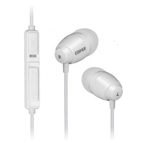 EDIFIER Earphone [K210] - White - Earphone Ear Bud